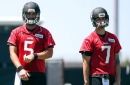 Jaguars coach Doug Marrone holding off on naming starting QB for preseason game