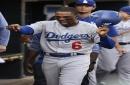 Dodgers add veteran value in Curtis Granderson, send slumping Joc Pederson to Triple-A