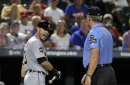 MLB umpires wear wristbands to protest 'abusive' treatment