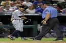 Brad Ausmus fumes at 'petty' umpire protest; Ian Kinsler refuses to back down