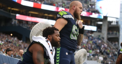 Michael Bennett, Justin Britt spark debate with national anthem protest — and that's exactly what we need