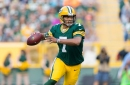 Brett Hundley throws touchdown to Aaron Jones to give Packers a 14-3 lead