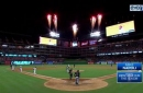 WATCH: Mike Napoli hits 3-run home run in 4th inning vs. White Sox