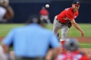 Washington Nationals drop 3-1 decision to San Diego Padres: Stephen Strasburg solid, but Nats' offense struggles to produce...
