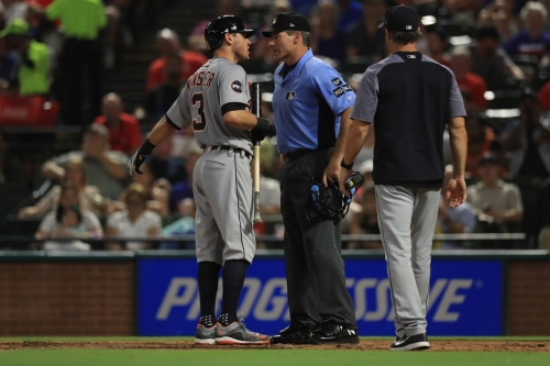 Tigers' Ian Kinsler fined for comments about Angel Hernandez