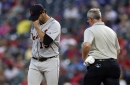 Tigers place Anibal Sanchez on 10-day disabled list