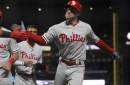 Kelly slam, Phillies beat Giants 12-9 to end 6-game skid (Aug 19, 2017)