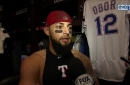 Rougned Odor on Perez in win: 'He did a great job'