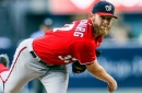 Washington Nationals' Stephen Strasburg talks taking a step back to get two steps forward...