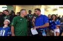 Eastern Michigan football player surprised with scholarship at Detroit Lions game