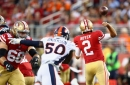 Brian Hoyer explains random fumble, 49ers penalties, offensive struggles