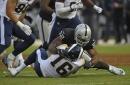 Raiders notes: Derek Carr wasn't sure how long he'd play vs. Rams