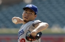 Kenta Maeda perfect for five innings but unravels in sixth as Dodgers lose, 6-1