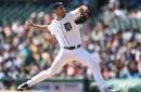 No hits till 6th: Verlander, Tigers top Maeda, Dodgers 6-1