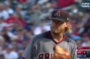 HIGHLIGHTS: Jimmy Sherfy strikes out 2 in MLB debut