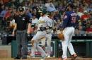 Semien, Cotton send Athletics past sloppy Astros 3-2 (Aug 20, 2017)