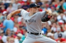Gray has short outing after Red Sox drive up pitch count quickly