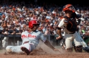 Giants lose to Phillies 2-5, are eliminated from division