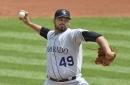 Antonio Senzatela is returning to the Rockies rotation with a curveball