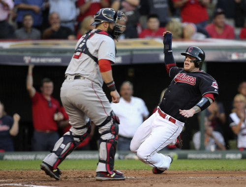 Cleveland Indians, Boston Red Sox starting lineups for Monday, Game No. 123
