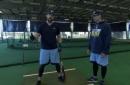 Tampa Bay Rays demo: Steven Souza Jr.'s batting stance