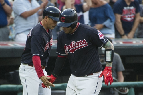 Cleveland Indians get walk off win against Boston Red Sox, 5-4, on Roberto Perez's sacrifice bunt