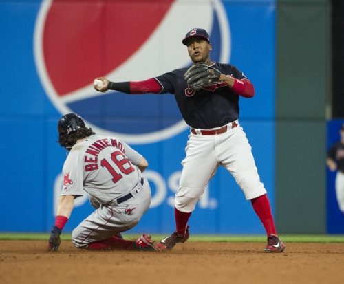 Cleveland Indians' defense saved the day in series opener against Boston Red Sox