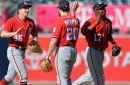 Dusty Baker on Daniel Murphy, the Washington Nationals' depth plus more before series with Houston Astros...