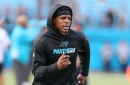Cam Newton increased his workload at practice yesterday, taking part in every team drill