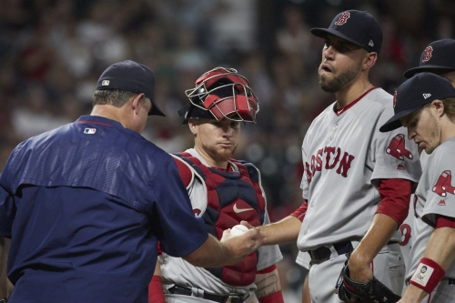 Red Sox place Matt Barnes on the 10-day disabled list; Recall Hector Velazquez