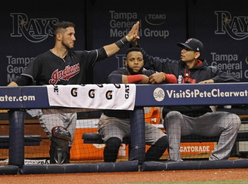 Cleveland Indians, Boston Red Sox starting lineups for Tuesday, Game No. 124