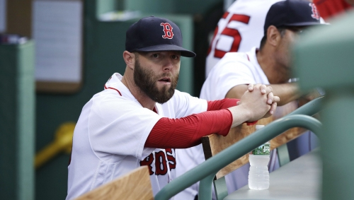 Boston Red Sox's Dustin Pedroia 'chomping at the bit'; David Price throws out to 90 feet Tuesday