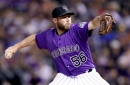 Rockies' Greg Holland returns to Kansas City, where he became an all-star reliever