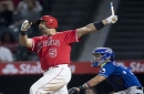 Angels' Albert Pujols hits 610th home run, breaking tie with Sammy Sosa for foreign-born record