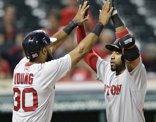 Eduardo Nunez was cooling down, then Boston Red Sox leadoff hitter proceeded with offensive surge Tuesday
