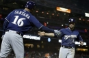 Brewers rally behind Shaw to beat Giants 4-3 (Aug 22, 2017)