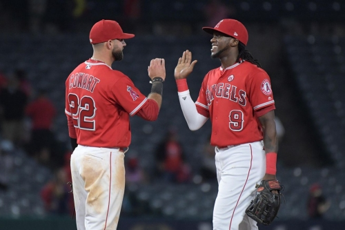 Angels somehow manage to make the Rangers look even MORE pathetic with 10-1 drubbing