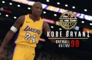 Kobe Bryant's NBA 2K18 rating on Lakers all-time team revealed