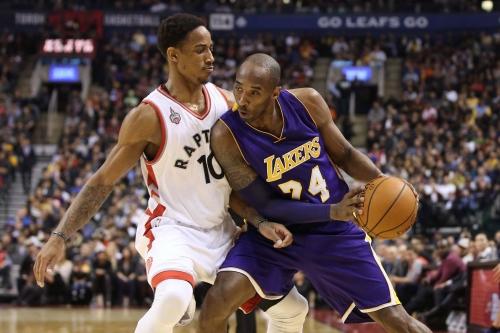 Kobe Bryant Issues Challenge to DeMar DeRozan