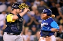 Dodgers 3, Brewers 1: Santana's homer is the only hit as Dodgers continue rolling along