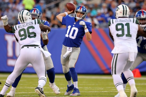 Giants 29, Jets 3 - Giants' Offense Shows Signs Of Life