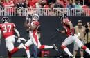 Cardinals get 2 TD catches from John Brown, beat Falcons