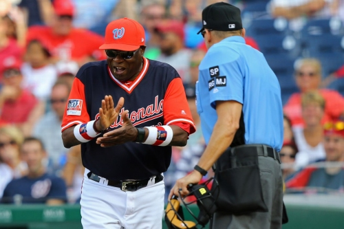 Washington Nationals lose 6-5 to New York Mets: Dusty Baker hot after two controversial calls in the 9th...