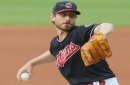 Mother Nature, doubleheaders delay Josh Tomlin's return to Cleveland Indians' rotation