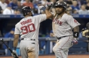 Mitch Moreland belts go-ahead home run, Rick Porcello bounces back as Boston Red Sox sweep Toronto Blue Jays