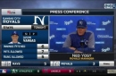 Yost on Vargas: 'He keeps going out there and competing'
