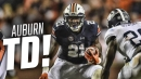 See Auburn's first touchdown of 2017 in slow motion