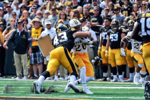 JOSEY JEWELL NAMED B1G DEFENSIVE PLAYER OF THE WEEK