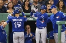 Blue Jays batter Boston