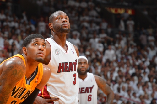 Dwyane Wade, rumored to Lakers, worked out with Paul George in Malibu